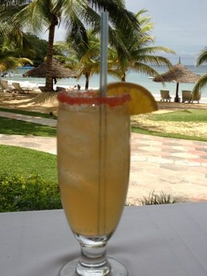 A classic Rum Punch at Couples Resorts